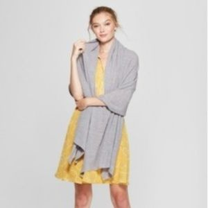 A New Day Gray Travel Wrap